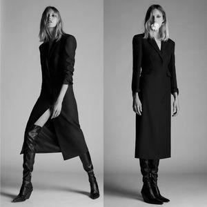 NWT Zara Tuxedo Coat Dress Limited Edition